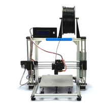 Autoleveling Max Printing 270*210*200mm Reprap Prusa  i3 3D Printer DIY KIT with PLA  filament and LCD and tools