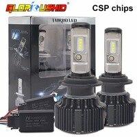60W 8000LM H7 LED Car Headlight Bulb H4 H11 H8 H9 9005 HB3 9006 HB4 CSP