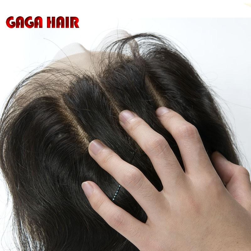 Brazilian Virgin Hair Weft Body Wave 3pcs Human Hair Weave Bundles with 1pcs Lace Closure GaGa Hair Products Hair Extensions (97)