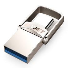 EAGET CU20 USB флэш-накопитель 32 Гб OTG металлический USB 3,0 флеш-накопитель 64 Гб type C Высокоскоростной флеш-накопитель компактный флеш-накопитель карта памяти