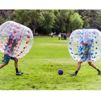1.2mPVC For Kids Bubble Soccer Inflatable Bumper Ball Bubble Football Bubble Body Soccer Ball Soccer Zorb Ball Loopy BounceBalls
