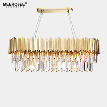 New Arrival Contemporary Crystal Chandelier Lighting Fixture Creative Lustres Hanging suspension Light Dining Living room Lamp