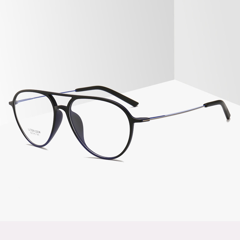 ULTEM PEI Pilot Glasses Frame Men Women Vintage Retro Clear Lens Oval Eyeglasses Optical Myopia Spectacle Frames Eyewear Oculos in Men 39 s Eyewear Frames from Apparel Accessories