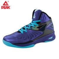 PEAK Men's Professional Basketball Shoes Soaring Series Medium Cut Lightweight Guards Sneaker