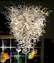 Hot Sale Antique Style Hand Blown Murano Glass LED Chandelier Lighting