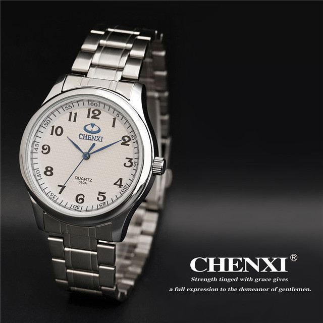 CHENXI Brand Classic Simple Men's Watch Casual Business Minimalism Lover's Clock