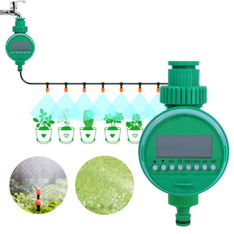 Gardening Watering Timer Automatic Electronic Irrigation Controllers Water Timer LCD Display Home Intelligence Watering System(China)