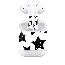 free drop shipping Latest design for Apple Airpods color skin sticker TN APODS 0208
