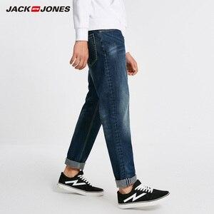 Image 2 - ג ק ג ונס גברים חם כותנה מוצק ישר ג ינס מכנסיים ג ינס אופנוען