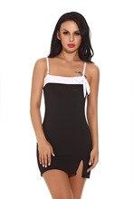 Women Sexy Underwear Polyester Nightdress Stretch Bodycon Mini Dress Sleepwear Lingerie Nightgown