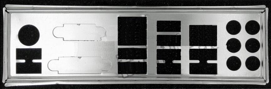 New I O shield back plate of motherboard for Gigabyte GA Z77X UD3H GA Z77X UD4H