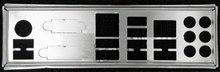 Nuevo i/o shield placa posterior de la placa base para gigabyte ga-z77x-ud3h ga-z77x-ud4h ga-z87x-ud3h solo proteger placa posterior envío libre