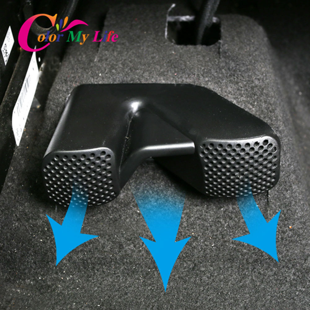 For Renault Koleos QM6 Kadjar For Nissan X-trail T32 Qashqai J11 Rogue Under Seat Floor A/C Heater Air Conditioner Vent Cover