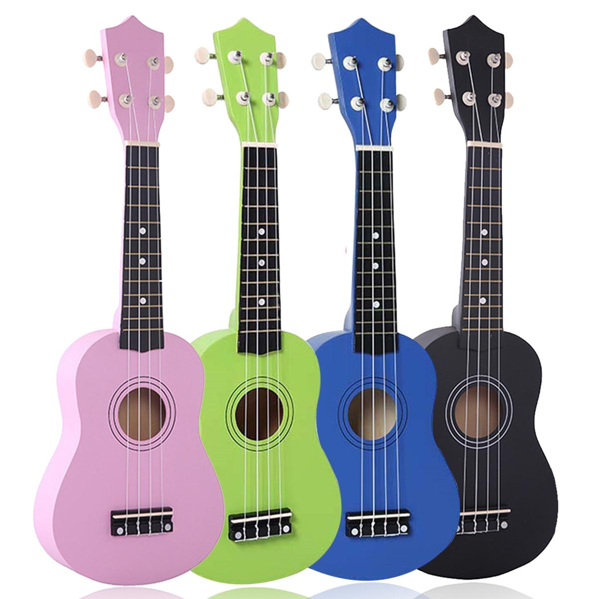 21 inch 12 frets soprano ukulele uke hawaii bass guitar 4 strings musical. Black Bedroom Furniture Sets. Home Design Ideas