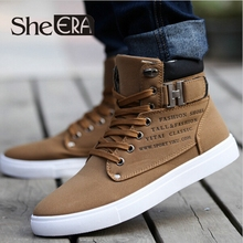 2015 Hot Men Shoes Sapatos Tenis Masculino Male Fashion Autumn Winter Leather Fur Boots For Man Casual High Top Canvas Men Shoes