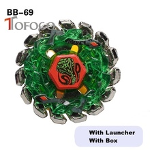 TOFOCO 4D Burst Toupie Beyblade Snake Set Toys For Sale Metal Fusions For Boy Kids Launcher
