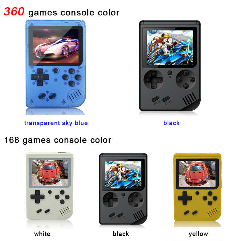 Мини игровая консоль 8 бит Ретро карманный портативный игровой плеер встроенный 168 классические игры лучший подарок для ребенка Ностальгический плеер