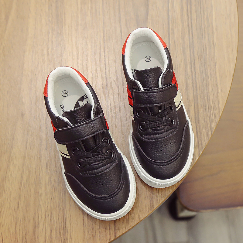 2017 New children shoes kindergarten sports School shoes toddle boys girls flats sneakers kids casual loafers PU Leather shoes babaya new children sport shoes casual pu leather white running shoes for 4 12 years old boys and girls kids sneakers size 26 37