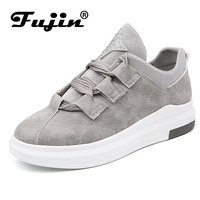 Fujin Brand 2018 Women New Arrival Sneakers Breathable Round Toe Casual Shoes Student Platform Shoes Flats