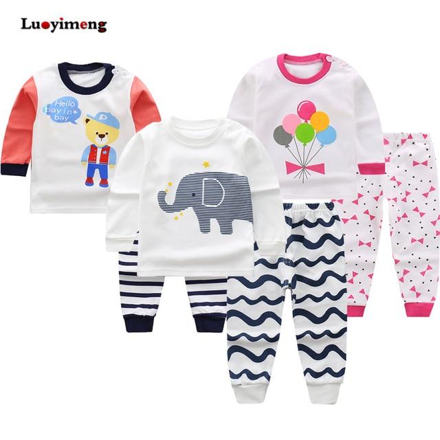 a1d4f847d Kids Pajama Sets Boys Cartoon Pijamas Children Clothes Cotton ...