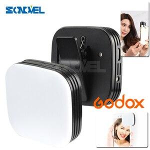 Image 1 - مصباح LED محمول من Godox M32 لإضاءة الهاتف المحمول للهواتف الذكية iPhone 7 plus سامسونج شاومي جميع أنواع الهواتف المحمولة