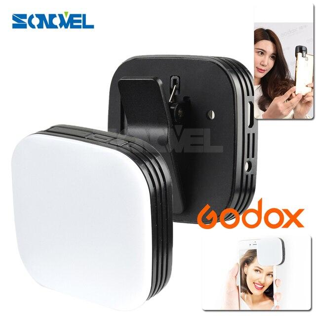 مصباح LED محمول من Godox M32 لإضاءة الهاتف المحمول للهواتف الذكية iPhone 7 plus سامسونج شاومي جميع أنواع الهواتف المحمولة