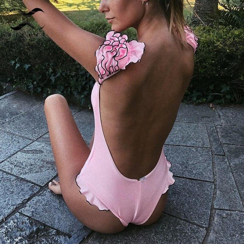 Bikinx Push Up Swimsuit Female Ruffle Sexy Bikini 2019 New Bathers Bandeau Swimwear Women Bathing Suit Brazilian Micro Bikini