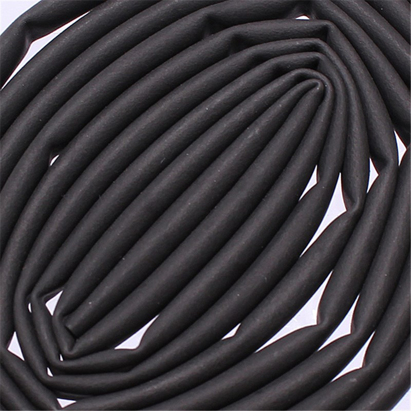 The Best Quality New Black 1/10 Polyolefin Ratio 3:1 Heat Shrink Tubing Tube Sleeving 50CM 2.4mm 1.6ft