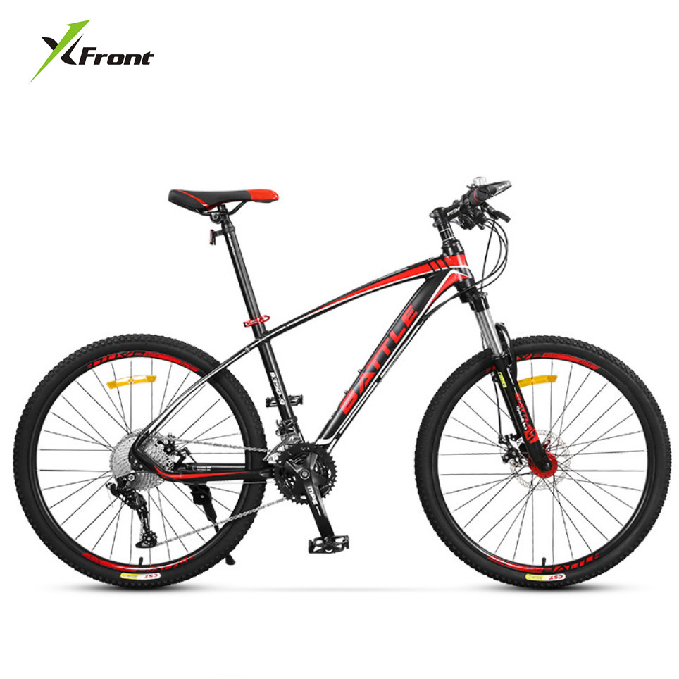 New brand aluminum alloy frame 27 30 33 speed dual disc Outdoor bicycle