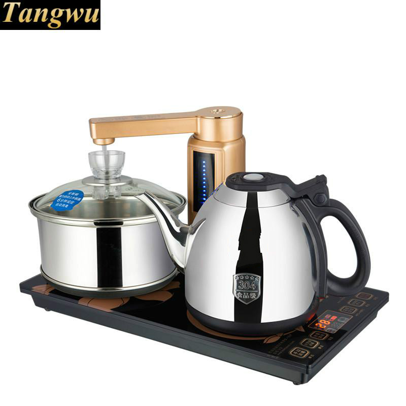All-intelligent automatic water electric kettle with full tea furnace one-key all-intelligentAll-intelligent automatic water electric kettle with full tea furnace one-key all-intelligent