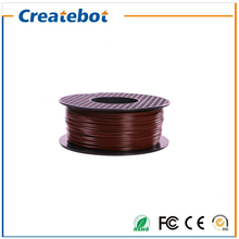 3d printer filament  Brown Color ABS 1.75mm/3mm 1kg plastic Rubber Consumables Material for Createbot/ MakerBot/RepRap/UP