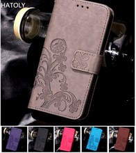 For Case Xiaomi Redmi Note 4X Cover Flip PU Leather & Silicone Wallet Phone Holster