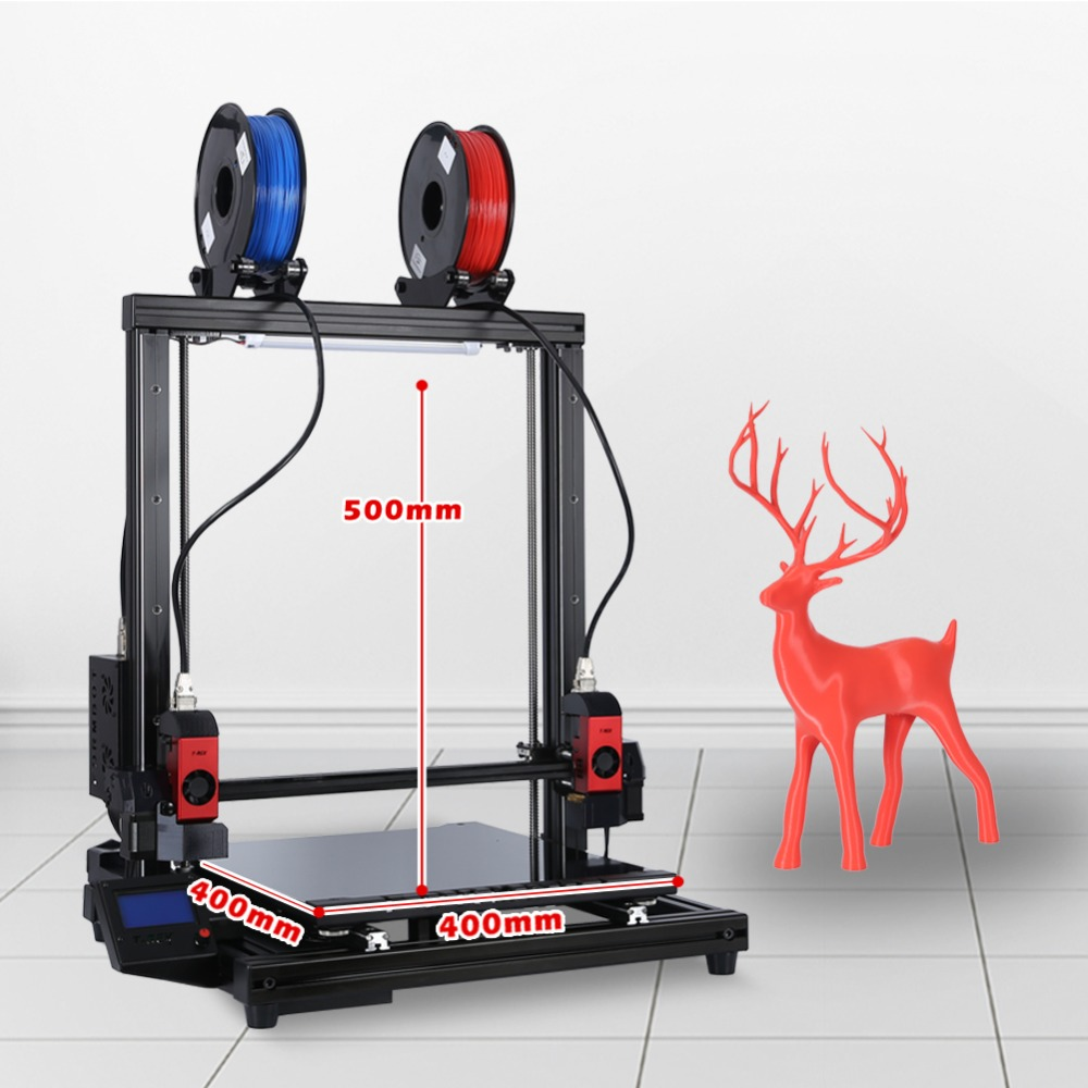 3D Printer Independent Dual Extruder-in 3D Printers From