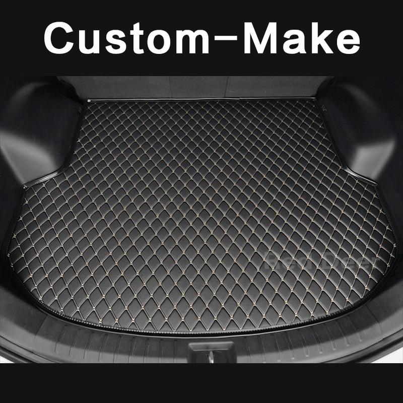 Custom Made Car Trunk Mat For Ford Ecosport Escape Kuga