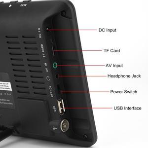 Image 4 - LEADSTAR 7 pollici DVB T T2 16:9 HD Analogico Digitale Portatile TV Lettore Televisione a Colori per Auto A Casa per il REGNO UNITO Spina