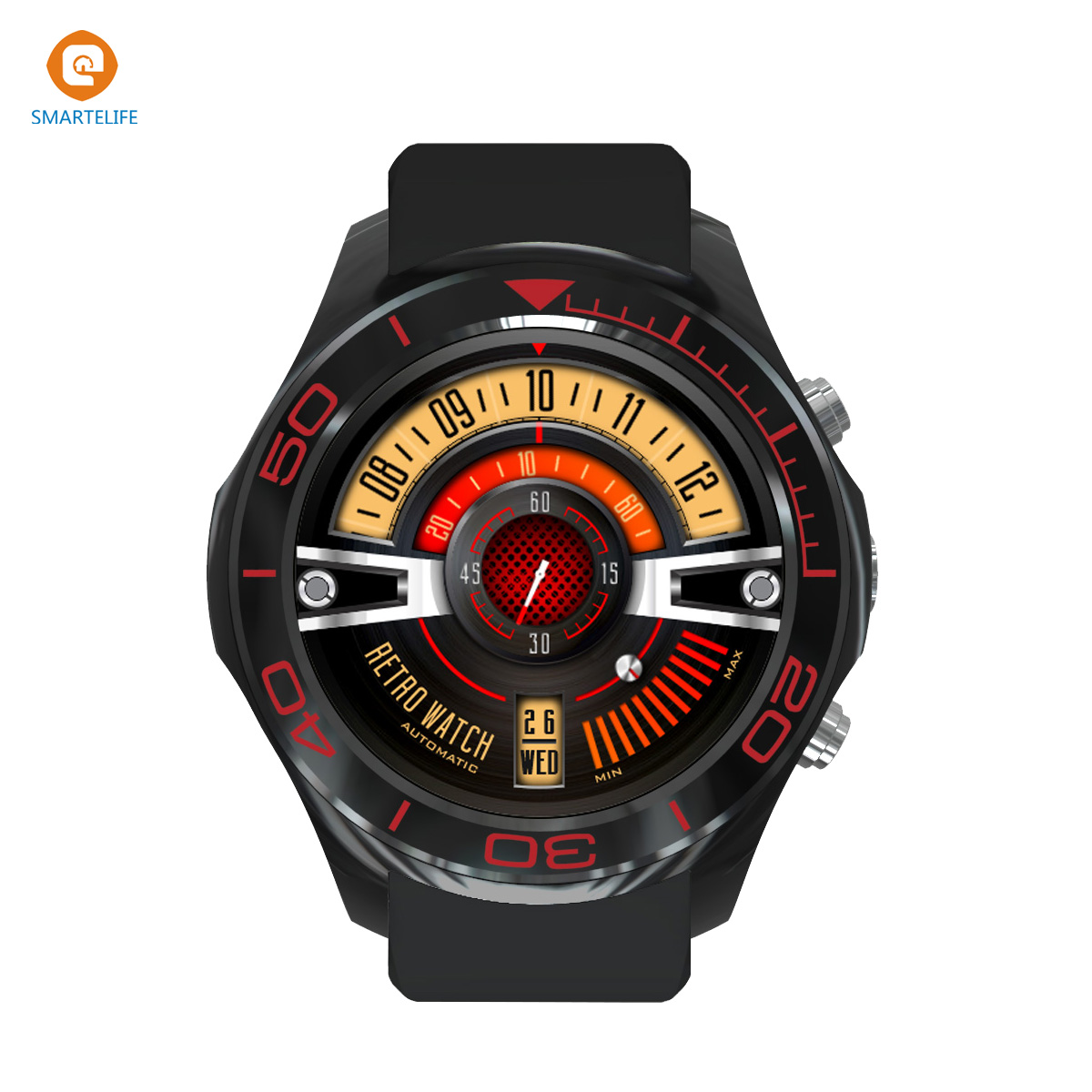 SMARTELIFE Android 3G Smart Watch Phone with WIFI Bluetooth Camera Dual-core GPS Heart Rate Monitor Wearable Devices Smartwatch uwatch bluetooth smart watch wristwatch with gps pedometer smartwatch wearable devices for android phone relojes inteligentes