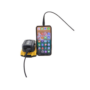 3A DCB091 Adaptörü DEWALT şarj Android Telefon 12 V Soğuk Takım Elbise USB Arayüzü
