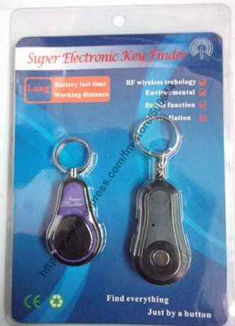 Super RF Electronic Key Finder/Wireless Remote Finder with Keychain & 2 DHL/UPS/EMS