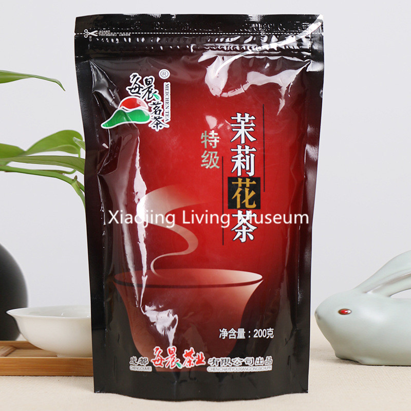 Chinese Green tea Jasmine tea 200g jasmine Flower Tea,Scented,flower tea Beauty Lubricate skin green health food Free Shipping 3g 10pcs high quality green tea jasmine tea new flowers jasmine flower tea green health food scented tea free shipping