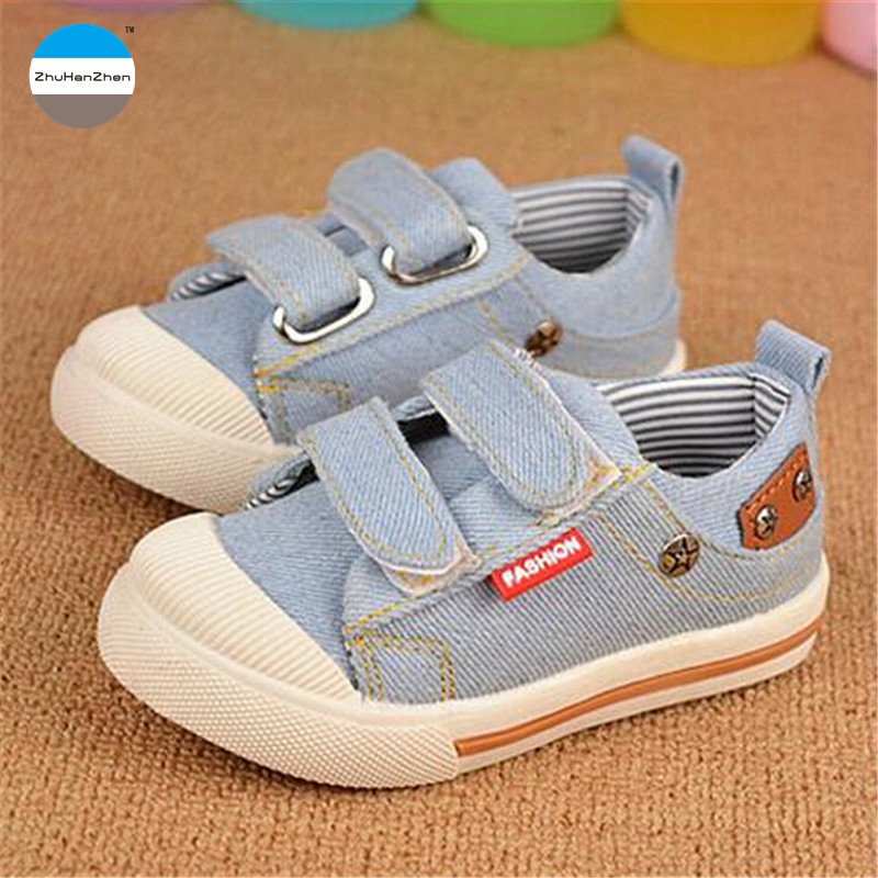 2018 Autumn Children Canvas Shoes 1 To 3 Years Old Baby Boys Girls
