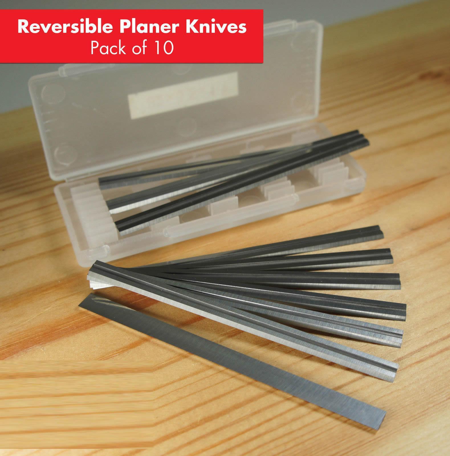 HZ Planer Blades Knife 82mmx5.5mmx1.1mm HSS & TCT Tungsten Carbide For Makita Bosch AEG DeWALT Hitachi Woodrazor Performax