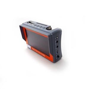 Image 4 - IV7W 4.3inch CCTV AHD TVI CVI CVBS camera tester monitor analog CVBS camera testing UTP cable test 12V1A output free shipping