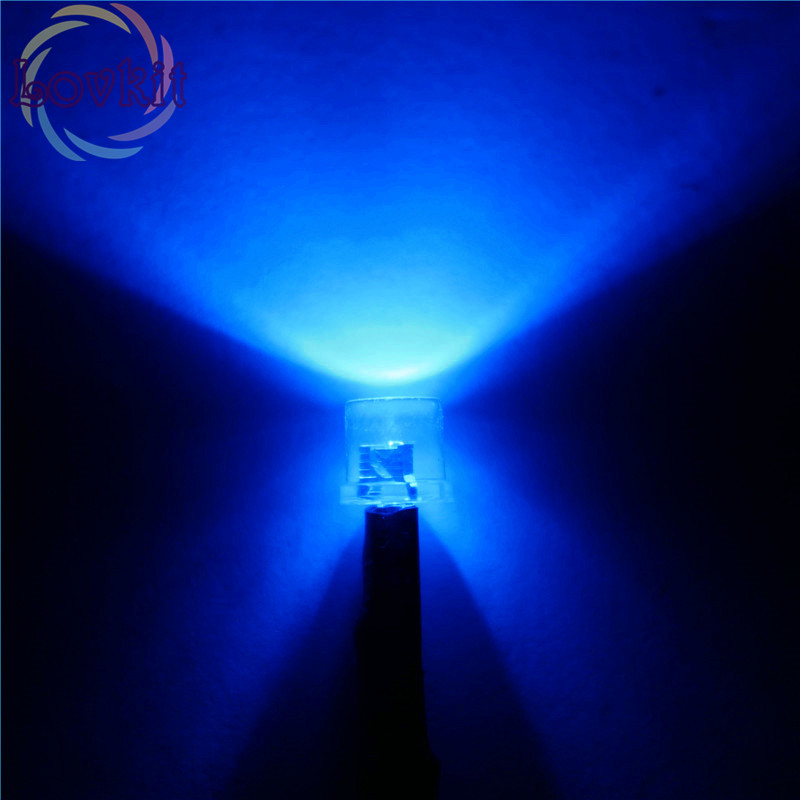 Sporting 20x Led 5mm Pre-wired Weerstand 12 V Dc 20 Cm Platte Top Blauw Breed Hoek Pre Wired Lamp Lamp Emitting Diodes Voor Auto Speelgoed Diy
