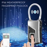 Biometric Fingerprint Door Lock Fingerprints Padlock Wifi Digital Locks Biometrics keyless Electric Bluetooth Padlocks Footprint