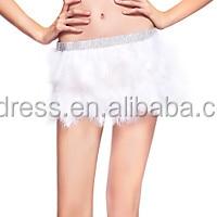 Hot Design Night Club Ball Room Stage Dancing Fabulous Feather Samba Tutu Skirt