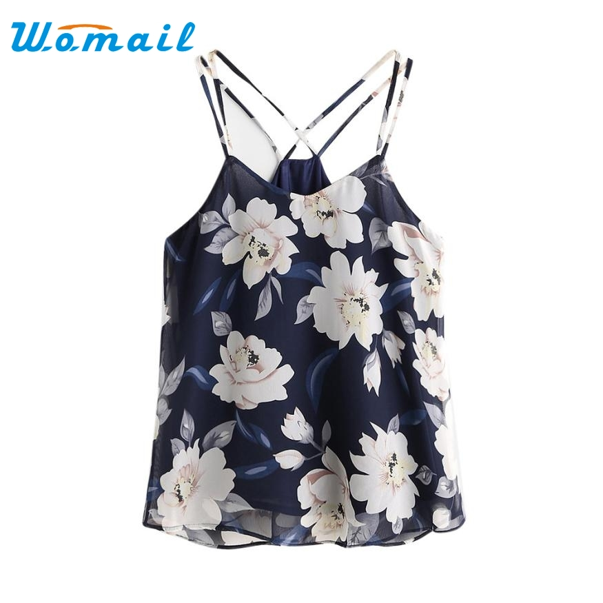 Hot 2017 New Fashion Summer Spring Cloth Womens Chiffon Sexy Sleeveless Halterneck Tank Crop Tops Blouse Shirt Levert Dropship