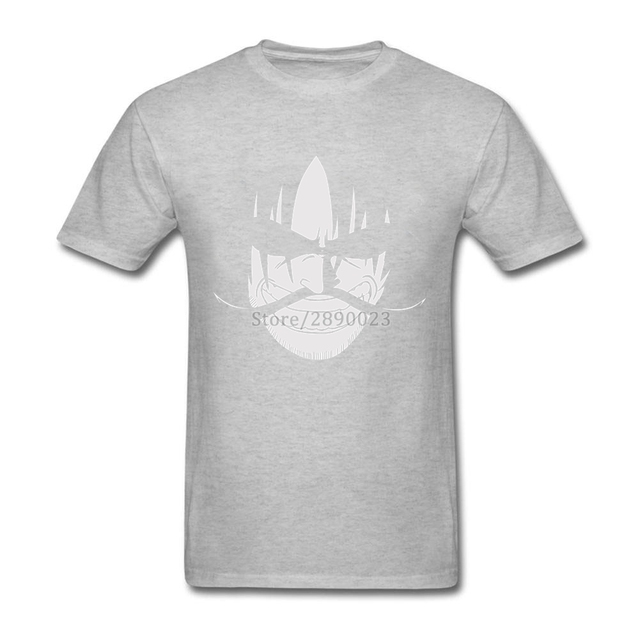 One Piece Men Custom Cotton Short Sleeves Fashion Men's T-shirt