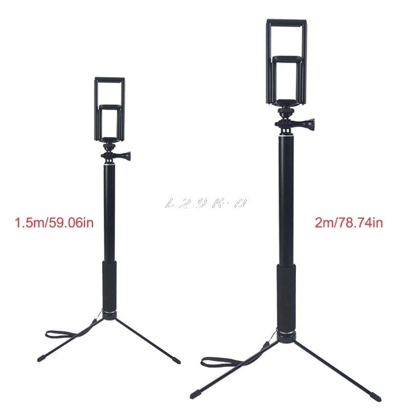 1,5 M/2 M Erweiterbar Selfie Stick Stativ Stehen Für Iphone Ipad Dslr Android Gopro SchöN Und Charmant