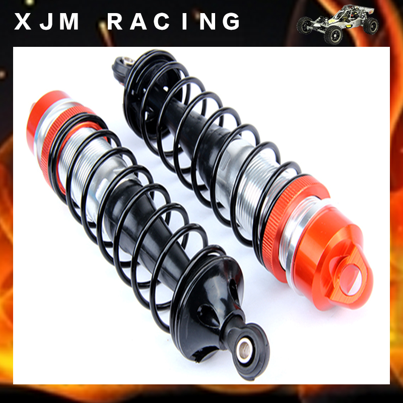 Rc Car Plastics rear absorber shock set fit rovan LT losi 5ive-T cnc metal rear shock absorber set fit rovan hpi losi 5t parts 87004