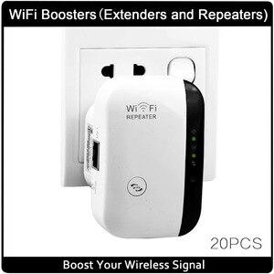 Image 1 - אלחוטי Wifi מהדר 802.11N/B/G רשת Wifi נתב Expander W ifi אנטנת wi fi Roteador אות מגבר Repetidor Wifi